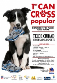 Las mascotas protagonizan la I 'Can Cross Popular' de Telde