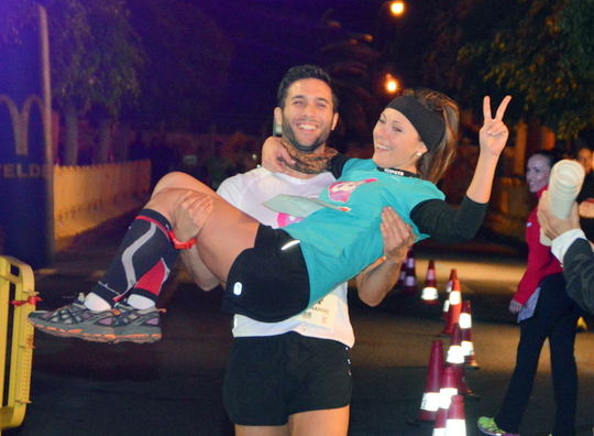 Telde abre las inscripciones para la 3ª carrera nocturna por parejas Run Together