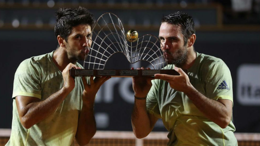 David Marrero gana con Verdasco la final de doble del Open 500 de Río de Janeiro