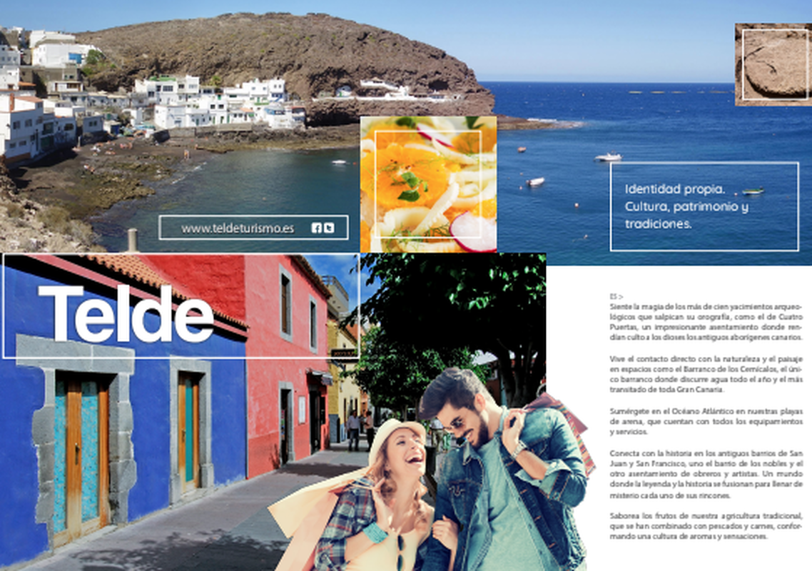 Telde, en la revista Time & Place