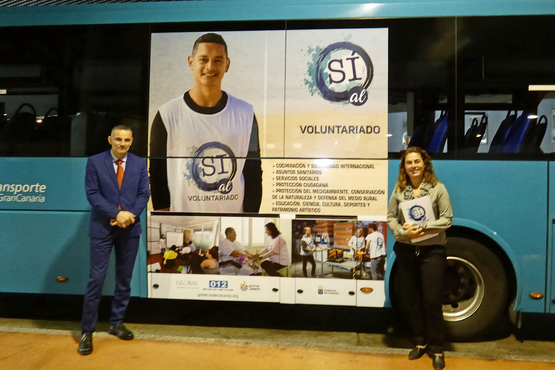 El Día Internacional del Voluntariado recorre la Isla con Global