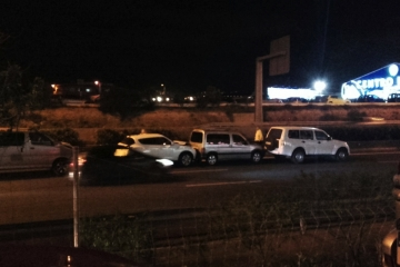 Accidente múltiple en la GC-1